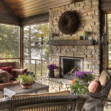Lower Hay Lake 1 Porch
