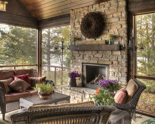 Idee e foto di portico in montagna for Idee di portico contadini