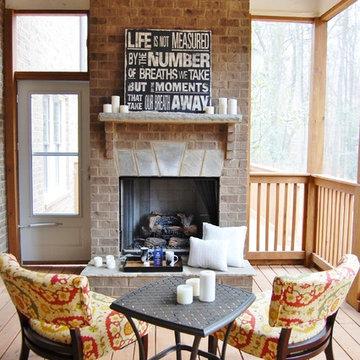 Luxury Atlanta Home - Staging & Outdoor Living