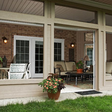 Traditional Porch by M.J. Whelan Construction