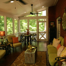 Traditional Porch by Archadeck of Central GA
