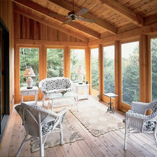 Traditional Porch by Habitat Post & Beam, Inc.