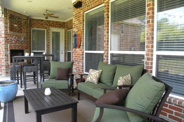 Transitional Porch by Sarah Greenman