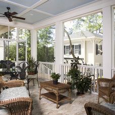 Traditional Porch by Max Crosby Construction
