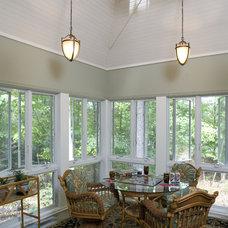 Contemporary Porch by HBF plus Design