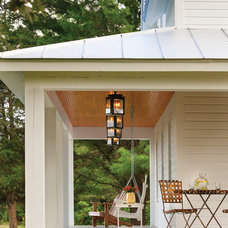 Farmhouse Porch by Lendrum Photography LLC