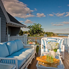 Traditional Porch by Anita Clark Design