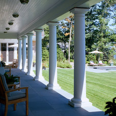 Traditional Porch by Catalano Architects