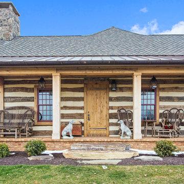 Master Bedroom Addition - Rustic Cabin