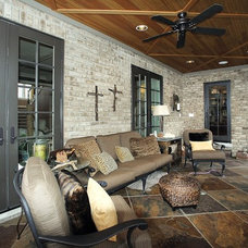 traditional porch by Matthies Builders