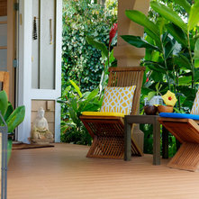 Tropical Porch by Natalie Younger Interior Design, Allied ASID