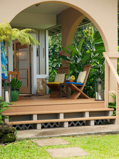 Front Porch Planter Houzz
