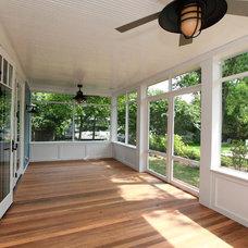 Farmhouse Porch by SAI Contracting