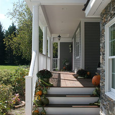 Traditional Porch by Bay Area Design of the Berkshires