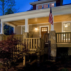 Traditional Porch by Brookstone Builders