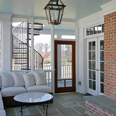 Traditional Porch by CogitateDesign, PLLC