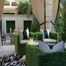 Contemporary Porch by Dorya Interiors