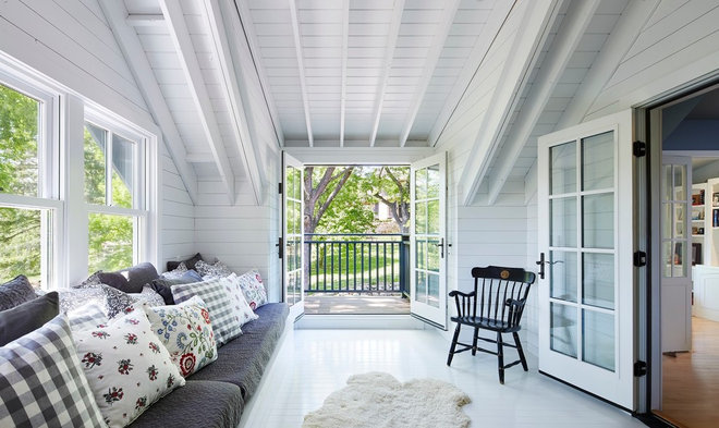 Scandinavian Porch by Meriwether Inc