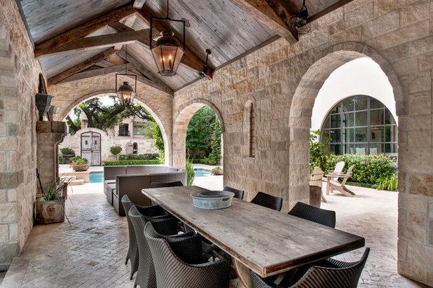 Inspirational Mediterranean Patio by Allan Edwards Builder Inc