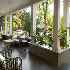 Traditional Porch by ScavulloDesign Interiors