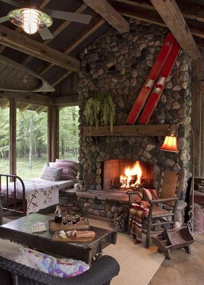 Rustic Porch by Michelle Fries, BeDe Design, LLC