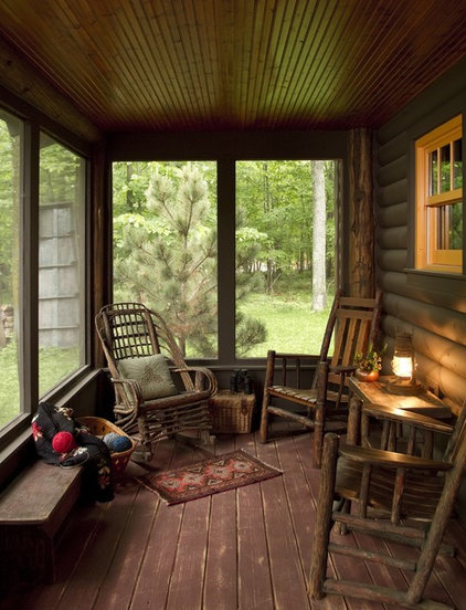 Rustic Porch by Michelle Fries, BeDe Design, LLC