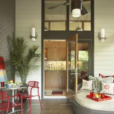 Modern Porch by Herrick Design Group