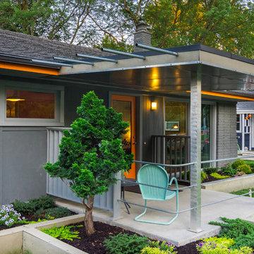 Midcentury Modern Outdoor Spaces