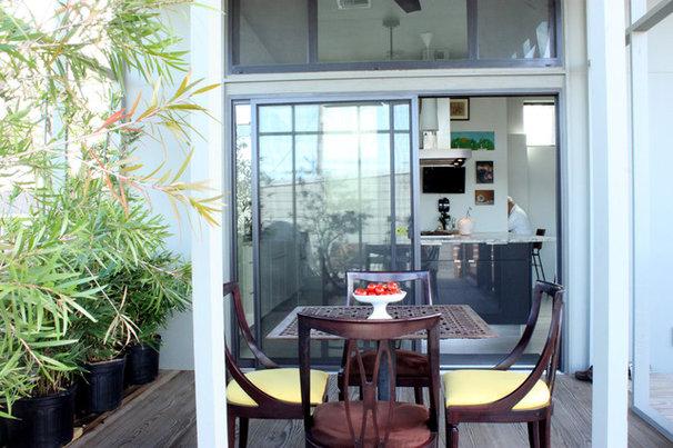 Contemporary Porch by Adam Breaux