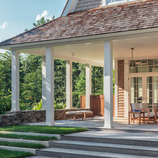 Traditional Porch by Demetriades + Walker