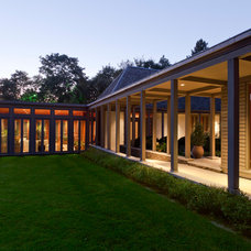 Contemporary Porch by Dirk Denison Architects