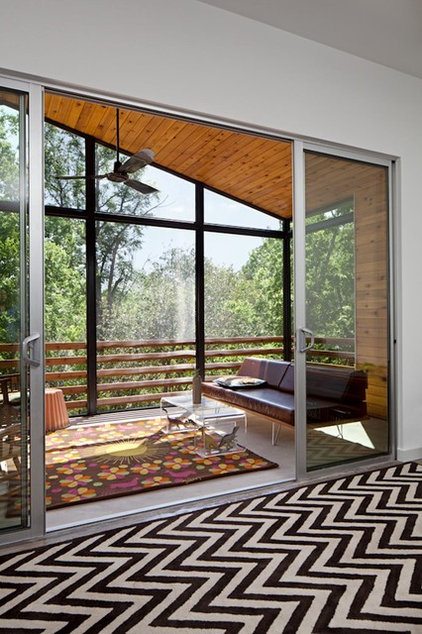 Contemporary Porch by Forsite Studio