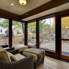 Traditional Porch by Highmark Builders