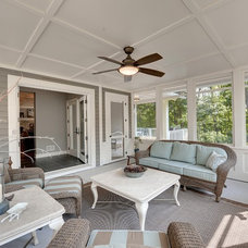 Traditional Porch by Knight Construction Design | Chanhassen, Minnesota