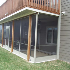 Traditional Porch by Donovan Construction and Remodeling