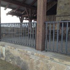 Traditional Porch by Matt Lunds Metal Matrix