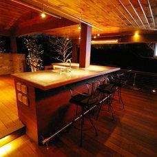 Modern Porch by Environmental Landscape Associates