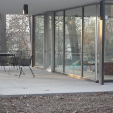 Modern Porch by ATM Mirror and Glass