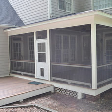 Modern Porch by Booe Building & Remodeling