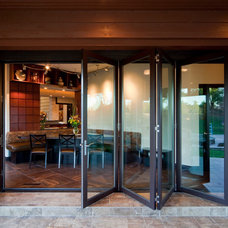 Modern Porch by Rebecca Elliott Interior Design, LLC