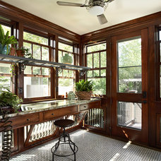 Craftsman Sunroom by Meriwether Inc