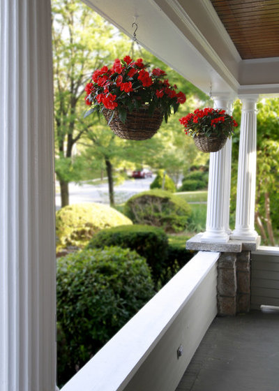 Eclectic Porch by Debra Kling Colour Consultant