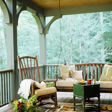 Traditional Porch by Johnson Architecture