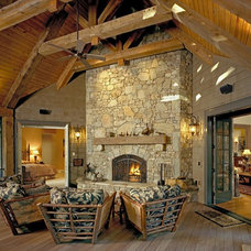 Rustic Porch by Cheryl Smith Associates