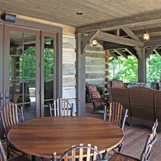 Traditional Porch by Appalachian Antique Hardwoods