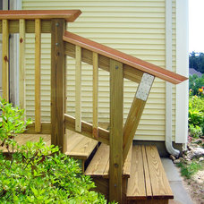 Traditional Porch by Chris Johnson