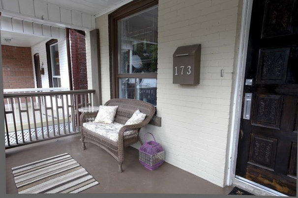 Eclectic Porch by Realty Queen Toronto