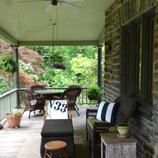 Traditional Porch by Colleen Brett