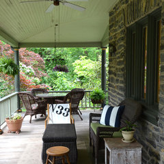 traditional porch by Colleen Steixner