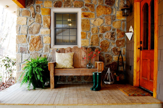 Rustic Porch by Corynne Pless